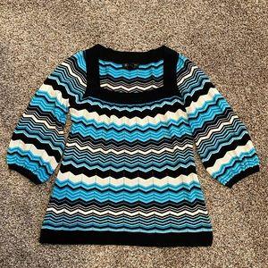 INC silk blend sweater